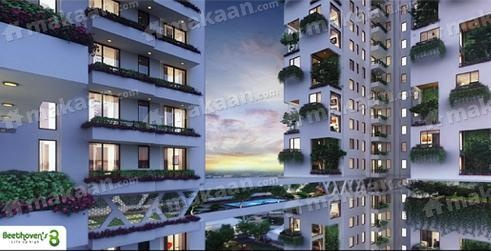 1300 sqft, 2 bhk Apartment in Agrante Beethoven 8 Sector 107, Gurgaon at Rs. 76.7000 Lacs
