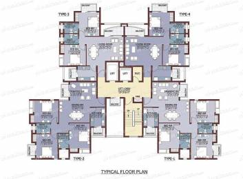 Semi Furnished 2 BHK Spacious Apartment available with Power Backup Facility
