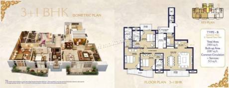North East Facing 3 BHK Apartment available in Prime Location