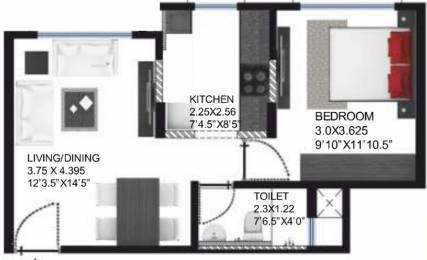 572 sqft, 1 bhk Apartment in Godrej Palm Grove Mevalurkuppam, Chennai at Rs. 0