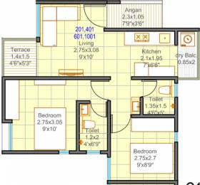 666 sqft, 2 bhk Apartment in Mantra 7 Hills Dhayari, Pune at Rs. 0