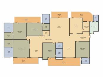 5320 sqft, 5 bhk Apartment in Mapsko Royale Ville Sector 82, Gurgaon at Rs. 0