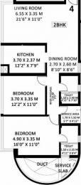859 sqft, 2 bhk Apartment in Godrej Platinum Vikhroli, Mumbai at Rs. 0