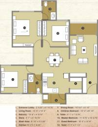 1600 sqft, 3 bhk Apartment in Pacifica Reflections Near Nirma University On SG Highway, Ahmedabad at Rs. 0