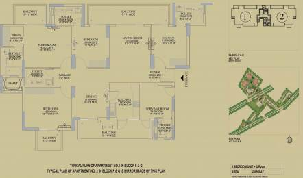 2606 sqft, 4 bhk Apartment in DLF The Primus Sector 82A, Gurgaon at Rs. 0