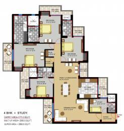 2890 sqft, 4 bhk Apartment in Civitech Stadia Sector 79, Noida at Rs. 0