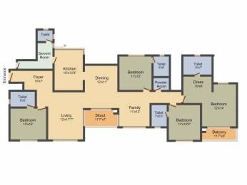 2882 sqft, 4 bhk Apartment in Prestige Lakeside Habitat Varthur, Bangalore at Rs. 0