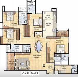 2710 sqft, 4 bhk Apartment in Prestige Falcon City Konanakunte, Bangalore at Rs. 0