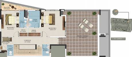 3065 sqft, 3 bhk Apartment in Mantri Lithos Thanisandra, Bangalore at Rs. 0