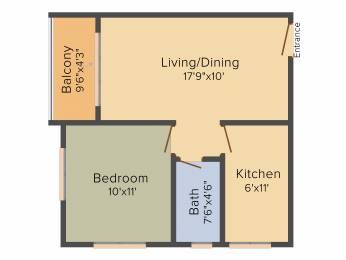 615 sqft, 1 bhk Apartment in Vaishnavi Gardenia Dasarahalli on Tumkur Road, Bangalore at Rs. 0