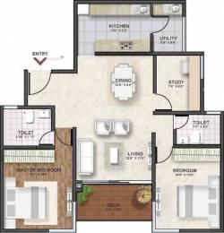 1405 sqft, 2 bhk Apartment in Shriram Southern Crest Kumaraswamy Layout, Bangalore at Rs. 0
