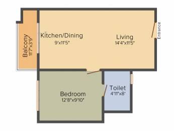 645 sqft, 1 bhk Apartment in Sobha Gateway Of Dreams Varthur, Bangalore at Rs. 0
