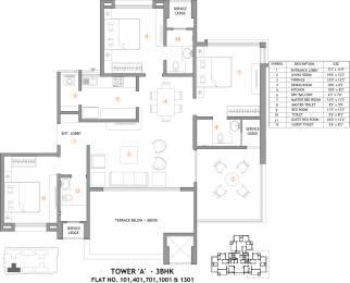 1249 sqft, 3 bhk Apartment in Supreme Belmac Residences Wadgaon Sheri, Pune at Rs. 0