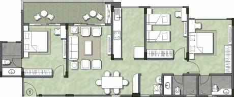 1652 sqft, 3 bhk Apartment in Kalpataru Serenity Manjari, Pune at Rs. 0