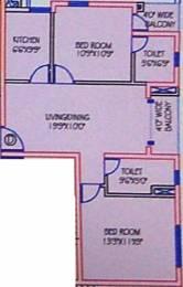1081 sqft, 2 bhk Apartment in Mani Casa New Town, Kolkata at Rs. 0