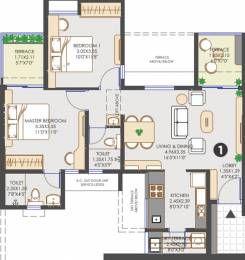 937 sqft, 2 bhk Apartment in Vilas Javdekar Yashwin Hinjawadi Hinjewadi, Pune at Rs. 0