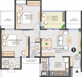 915 sqft, 2 bhk Apartment in Vilas Javdekar Yashwin Hinjawadi Hinjewadi, Pune at Rs. 0