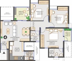 1135 sqft, 3 bhk Apartment in Vilas Javdekar Yashwin Hinjawadi Hinjewadi, Pune at Rs. 0