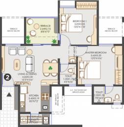 851 sqft, 2 bhk Apartment in Vilas Javdekar Yashwin Hinjawadi Hinjewadi, Pune at Rs. 0