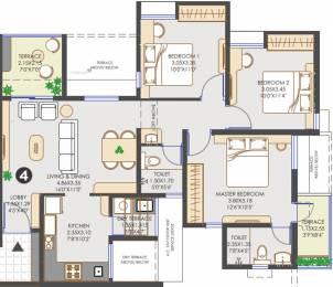 1129 sqft, 3 bhk Apartment in Vilas Javdekar Yashwin Hinjawadi Hinjewadi, Pune at Rs. 0