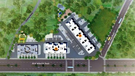 233.58 sqft, 1 bhk Apartment in Vilas Javdekar Yash One Phase I Pirangut, Pune at Rs. 0