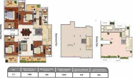 3206 sqft, 4 bhk Apartment in Adani Brahma Samsara Sector 60, Gurgaon at Rs. 0