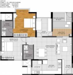 1412 sqft, 2 bhk Apartment in DNR Casablanca Mahadevapura, Bangalore at Rs. 0
