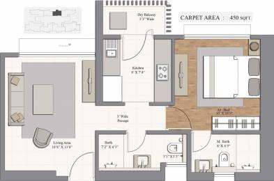 743 sqft, 1 bhk Apartment in Piramal Revanta Mulund West, Mumbai at Rs. 0