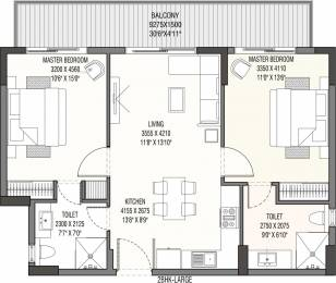 1450 sqft, 2 bhk Apartment in Godrej The Suites PI, Greater Noida at Rs. 0