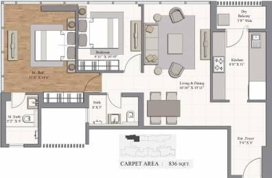 1378 sqft, 2 bhk Apartment in Piramal Revanta Mulund West, Mumbai at Rs. 0