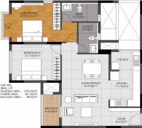 1767 sqft, 3 bhk Apartment in DNR Casablanca Mahadevapura, Bangalore at Rs. 0