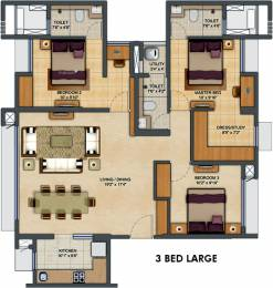 1548 sqft, 3 bhk Apartment in Lodha Upper Thane Anjurdive, Mumbai at Rs. 0