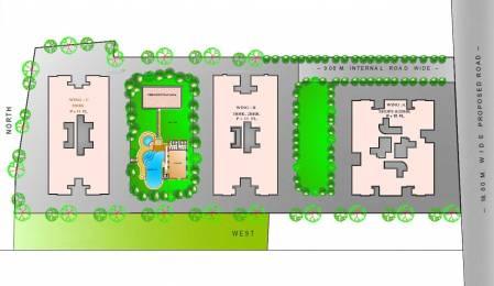 543.69 sqft, 2 bhk Apartment in Majestique Euriska NIBM Annex Mohammadwadi, Pune at Rs. 0