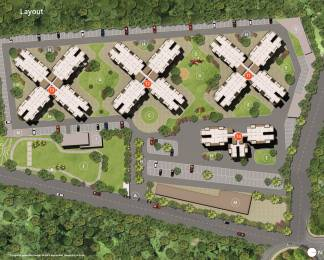 341 sqft, 1 bhk Apartment in Skyi Star Towers Phase I Bhukum, Pune at Rs. 0