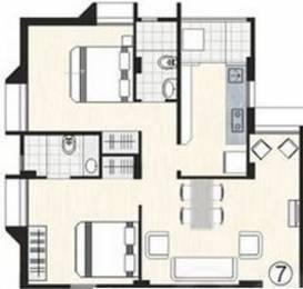 1180 sqft, 2 bhk Apartment in Bakeri City Vejalpur Gam, Ahmedabad at Rs. 0