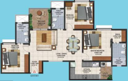 1500 sqft, 3 bhk Apartment in Provident Adora De Goa 1 Vasco Da Gama, Goa at Rs. 0