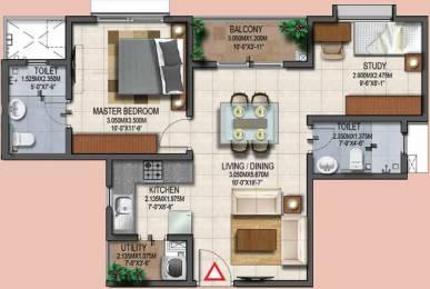 810 sqft, 2 bhk Apartment in Provident Adora De Goa 2 Vasco Da Gama, Goa at Rs. 0