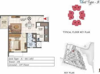 661 sqft, 1 bhk Apartment in Prestige Lake Ridge Subramanyapura, Bangalore at Rs. 0