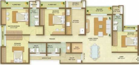 2495 sqft, 4 bhk Apartment in Indiabulls Greens Panvel, Mumbai at Rs. 0