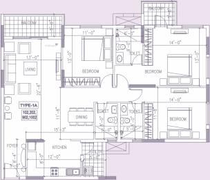 1700 sqft, 3 bhk Apartment in Ramky One North Yelahanka, Bangalore at Rs. 0