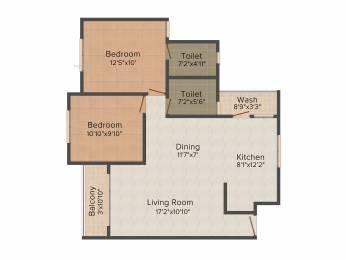 765 sqft, 2 bhk Apartment in Applewoods Sorrel Shela, Ahmedabad at Rs. 0