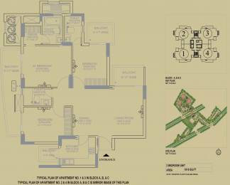 1818 sqft, 3 bhk Apartment in DLF The Primus Sector 82A, Gurgaon at Rs. 0