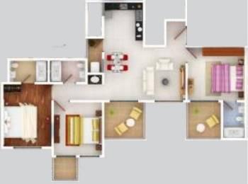 1273 sqft, 3 bhk Apartment in Pristine Prolife Wakad, Pune at Rs. 0