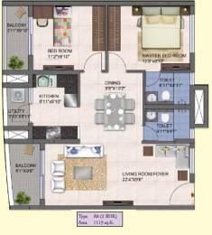 1220 sqft, 2 bhk Apartment in Kolte Patil Mirabilis Horamavu, Bangalore at Rs. 0