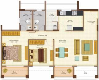 1140 sqft, 2 bhk Apartment in Peninsula Ashok Meadows Hinjewadi, Pune at Rs. 0