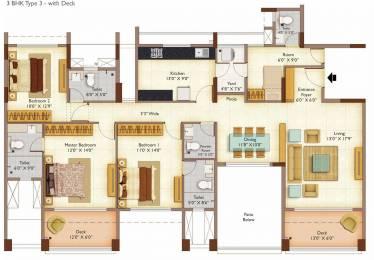 2070 sqft, 3 bhk Apartment in Peninsula Ashok Meadows Hinjewadi, Pune at Rs. 0