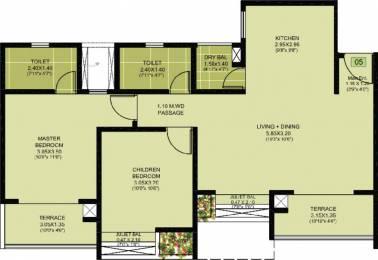 786 sqft, 2 bhk Apartment in Puraniks Abitante Bavdhan, Pune at Rs. 0
