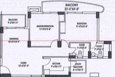 983 sqft, 2 bhk Apartment in Eldeco Accolade Sector 2 Sohna, Gurgaon at Rs. 0
