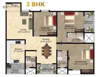 1770 sqft, 3 bhk Apartment in Shriram Superstar Perungalathur, Chennai at Rs. 0