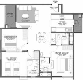 1373 sqft, 3 bhk Apartment in Godrej Azure Padur, Chennai at Rs. 0